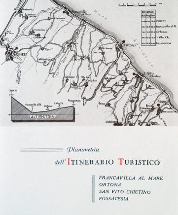 Itinerario 2 da G. Lalli - Cartografia, Planimetrie, 1961